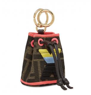 Fendi Micro Mon Tresor Bag Charm - Letter X