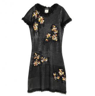 Extremely Rare Paris/Monaco Hand Embellished Dress
