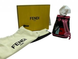 Fendi Micro Mon Tresor Bag Charm - Letter B