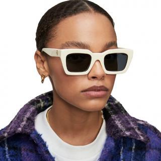Anine Bing Indio Sunglasses - Bone