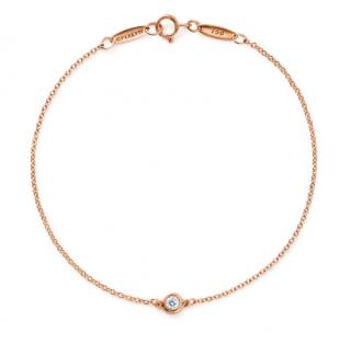 Tiffany & Co. Elsa Peretti Diamonds by the Yard Rose Gold Bracelet
