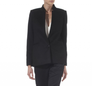 Stella McCartney Tailored Black Cashmere Jacket