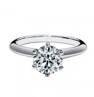 Tiffany & Co. The Tiffany Engagement Ring in Platinum
