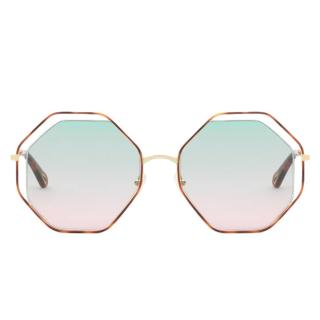 Chloe Poppy Octagonal Sunglasses