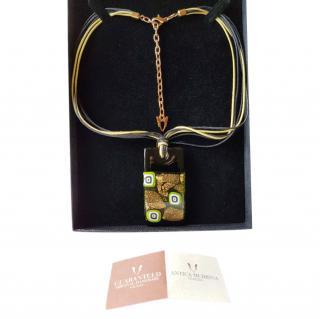 Antica Murrina Refined Glass Pendant Necklace