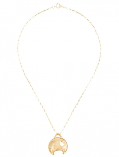 Alighieri La Forza 24kt gold-plated necklace