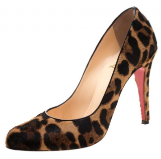 Christian Louboutin Leopard Decollete 868 pumps