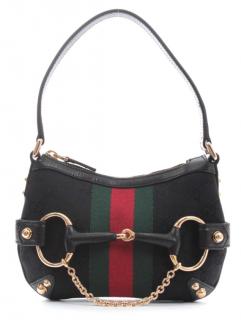 Gucci by Tom Ford Monogram Web Stripe Shoulder Bag