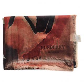 Burberry Cashmere Multicoloured Scarf