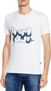 Just Cavalli Snake Slither Logo T