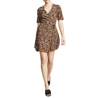 DVF Leopard Print Sevilla Wrap Dress