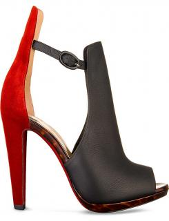Christian Louboutin Barabara Peep-Toe 120mm Booties