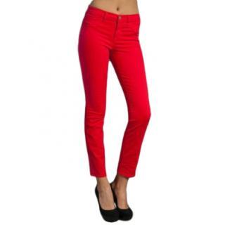 J Brand Stretch Twill Skinny Jeans