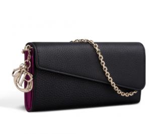 Dior diorissimo rencontre wallet in black bullcalf leather