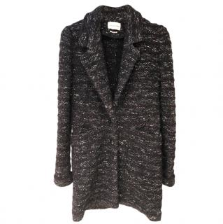 Isabel Marant Boucle Tweed Tailored Coat