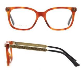 Gucci Tortoiseshell Optical Glasses