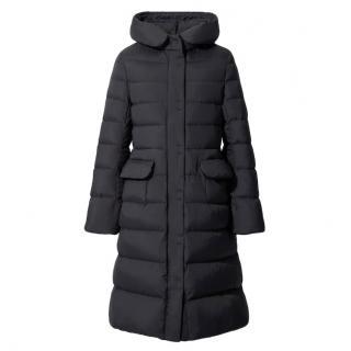 Jil Sander for Uniqlo black puffer coat