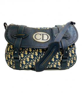 Christian Dior Vintage Traveller Trotter  Satchel Bag.
