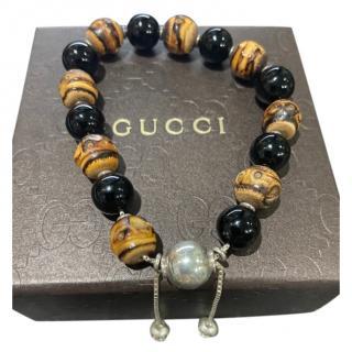 Gucci Bamboo Beaded Bracelet