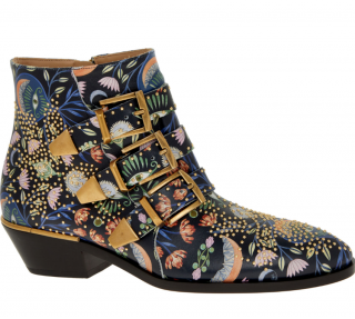 Chloe Limited Edition Studded Floral Susanna Boots