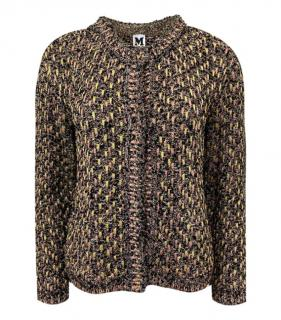 M Missoni Multicoloured Lurex Knit Cardigan/Jacket