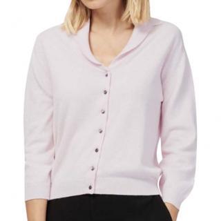 Brora Baby Pink Cashmere Cardigan