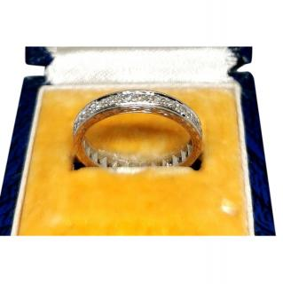 Bespoke 18ct White Gold Diamond Eternity Ring