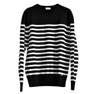 Saint Laurent Striped Wool Jumper
