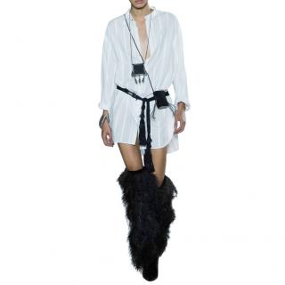 Saint Laurent Runway Oversize Stripe Shirt/Dress
