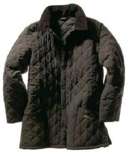 Barbour Dark Brown Eskdale Quilted Mens Jacket
