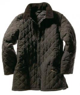 Barbour Dark Brown Eskdale Quilted Mens Jacket