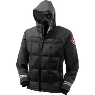 Canada Goose Mens Black Hybridge Jacket