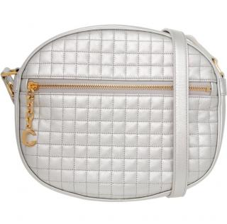 Celine Metallic Quilted C Crossbody Bag
