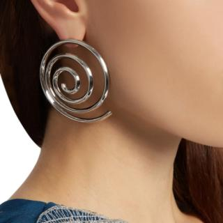 Eddie Borgo Apollo silver-plated earrings