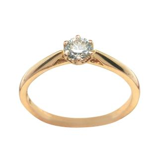 Cred 0.3ct Sri Lanka diamond solitaire ring