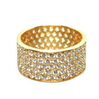 Bespoke 18ct Yellow Gold Diamond Ring