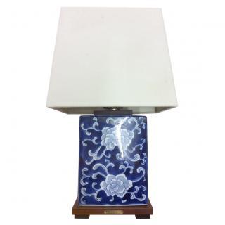 Lauren Ralph Lauren Home Blue & White Porcelain Lamp