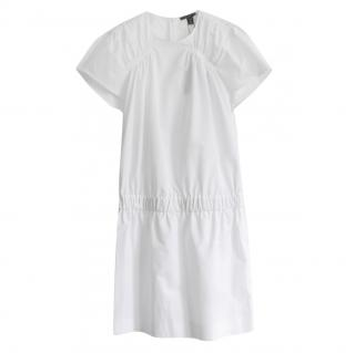 Louis Vuitton Cotton Gathered Waist Shift Dress