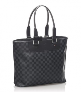 Louis Vuitton Men's Damier Graphite Cabas Voyage Tote