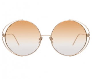 Linda Farrow farrah C7 round sunglasses