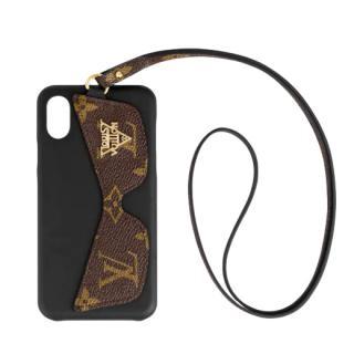 Louis Vuitton iPhone X/XS Bumper Shades Monogram Phone Cover