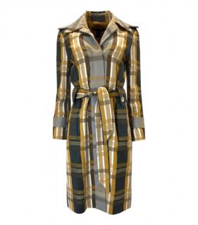 Marc By Marc Jacobs Check Trench Coat