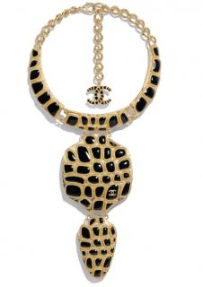 Chanel Paris/Egypt Collection Nile Gold Tone Necklace