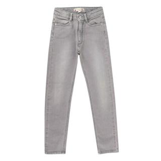 Bonpoint Grey Cotton Denim Jeans