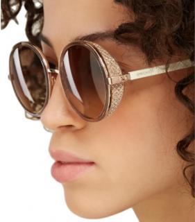 Jimmy Choo Andie Round Sunglasses