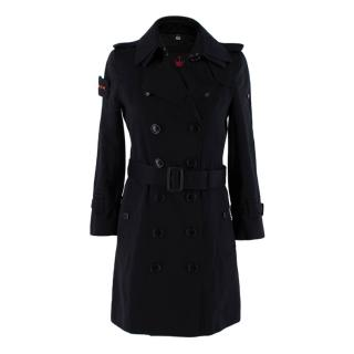 Trench London Black Limited Edition The Slim Trench Coat