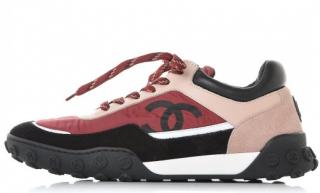 Chanel Nylon & Calfskin Sport Luxe Sneaker