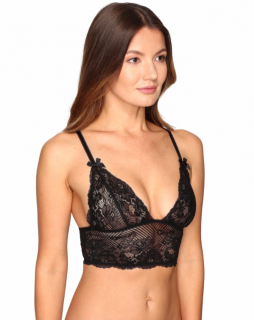 L'Agent by Agent Provocateur Black Lace Bralette
