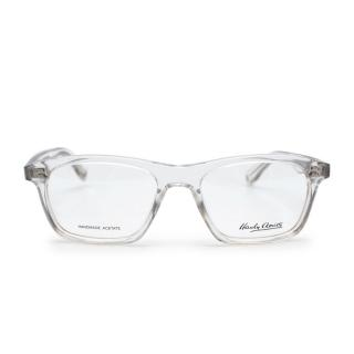Hardy Amies Clear Acetate Blake Optical Frames & E Marinella Silk Case