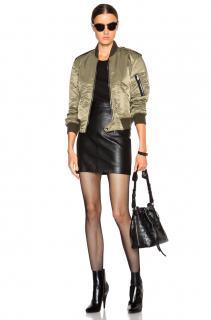 Saint Laurent Khaki Bomber Jacket